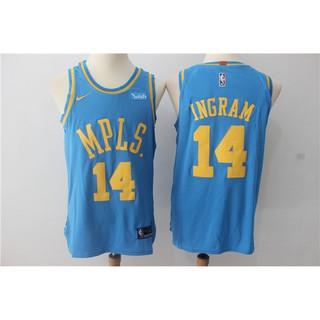 newest collection 6c57f 7d1c1 season Nike version NBA jerseys Lakers-Brandon Ingram jersey ...