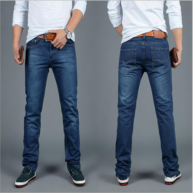 60593afc900 Big Sale Spring Summer Jeans Thin Men s Jeans Menpants Clothes Blue ...