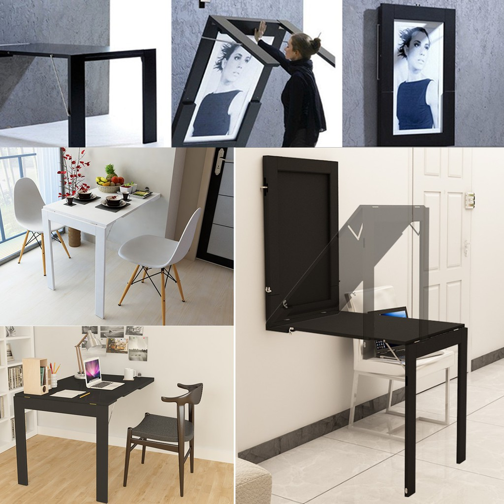 New Wall Frame Table Wall Mount Table Desk Shopee Singapore