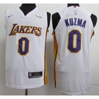 new concept ce521 41008 NBA NIKE Nike Jersey Kyle Kuzma 18-19 Lakers City (with ...