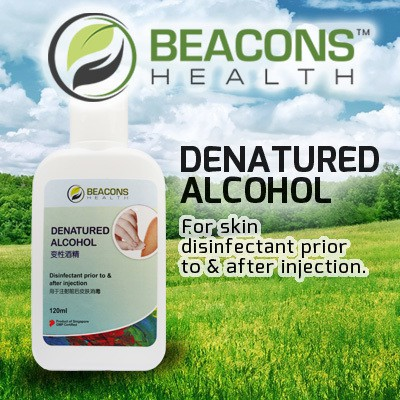 Denatured Alcohol (120ml)