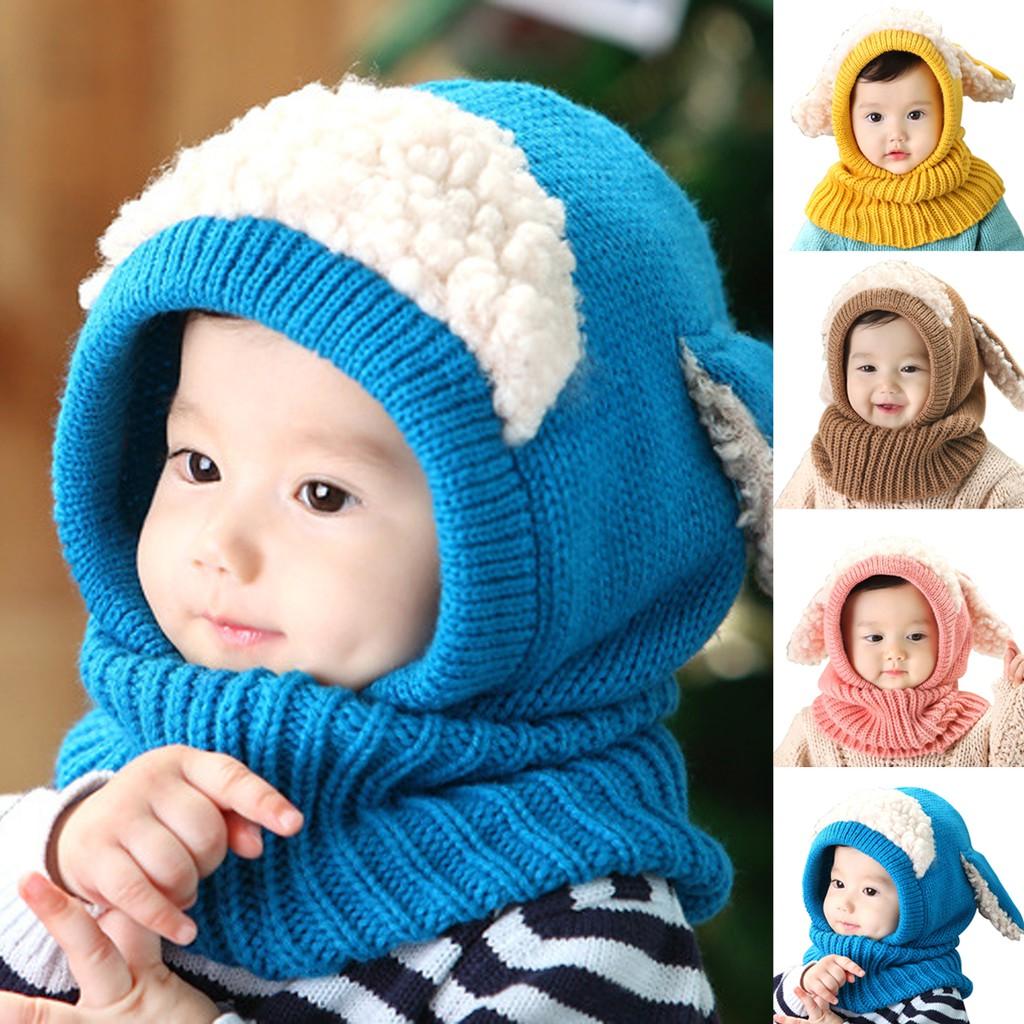 Scarves Warm Hats Caps Woolen Winter Kids Winter Baby Boys 696d7c67ba06