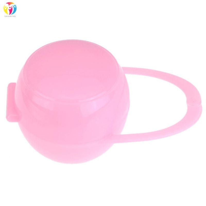 Portable Baby Infant Pacifier Case Soother Pod Nipple Cradle Dummy Holder Storage Box