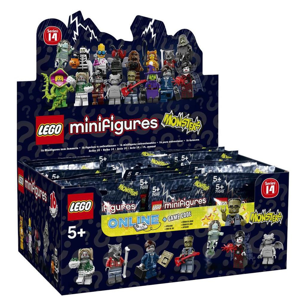 71010 Lego Series 14 Minifigures Full Box 60 Pieces Inside 71017 Batman Movie Of Shopee Singapore