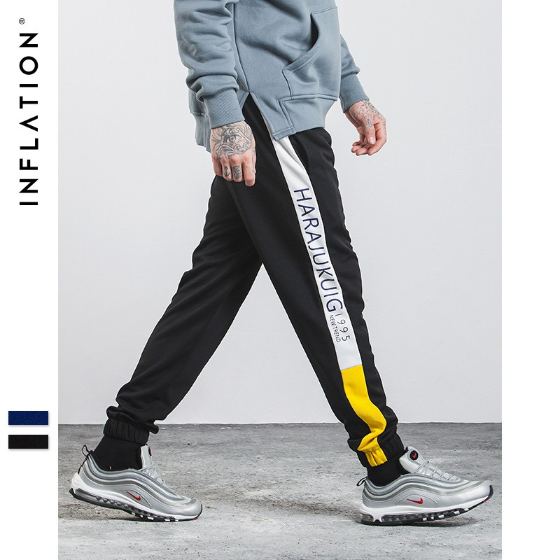 839d948c4 Inflation Men Retro Loose High Waist Casual Sports Pants 360W17 | Shopee  Singapore