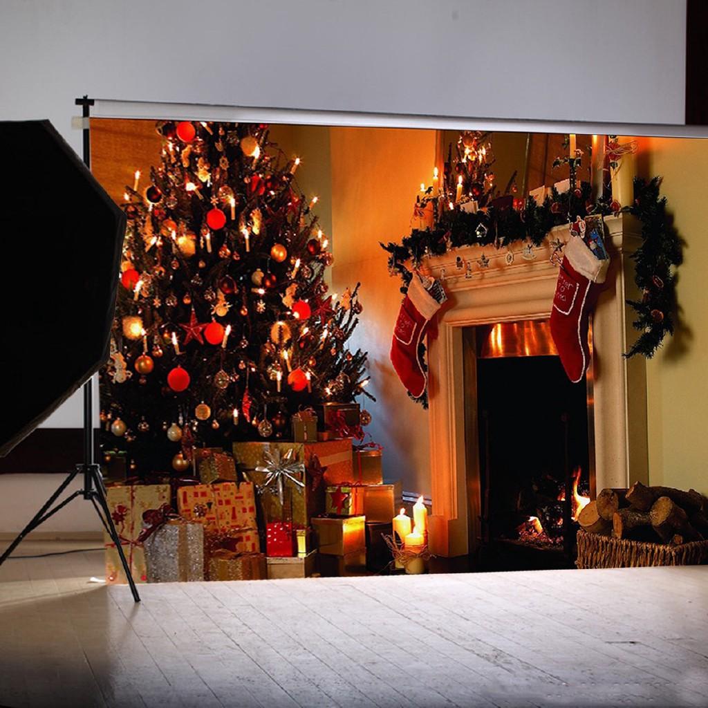 Big Sale 1 5 2m Fireplace Christmas Photography Backdrop Wall