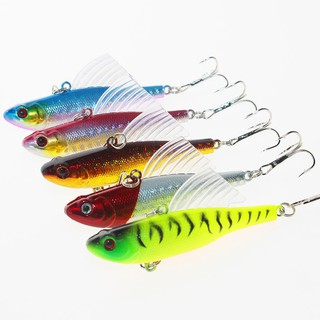 4PC Mini Hard Metal Fishing Lures Small Minnow Lure Bass Crank Bait Tackle Hooks
