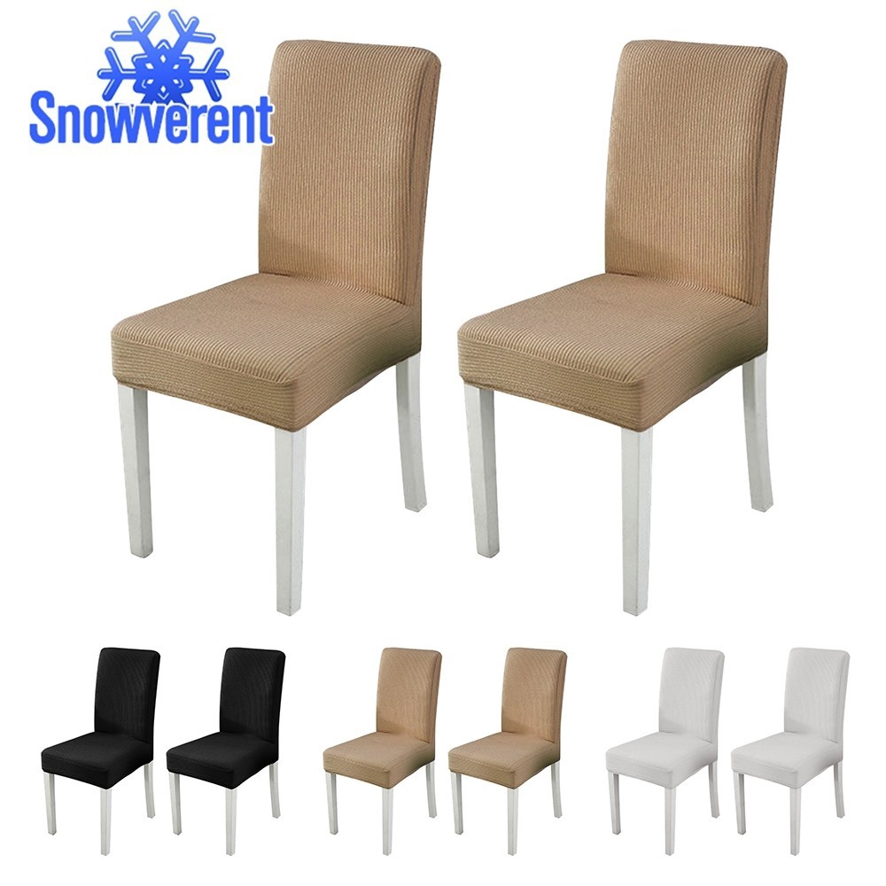 Solid Color Stretch Chair Cover Spandex Fabric Wedding Party Seat Assorted Color