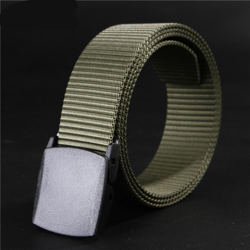 long big size new nylon material mens belt military outdoor tactical male jeans