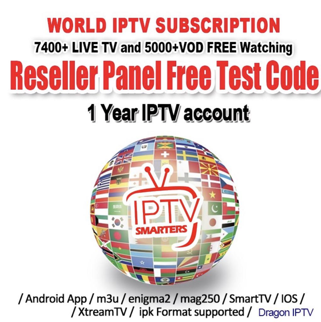 1 Year IPTV Smarters Suscription Singapore India Sports Live Channel