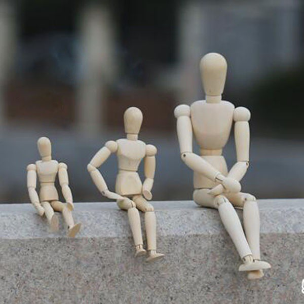 Wooden Mannequin Painting Artist Drawing Sketch Mannequin Puppet lg | Shopee Singapore