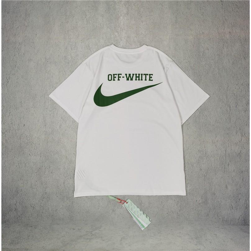OFF WHITE joint Sesame Street arrow print fashion tide brand OW short sleeve