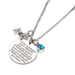 polished steel necklaces son gift,daughter'gift,mother gift