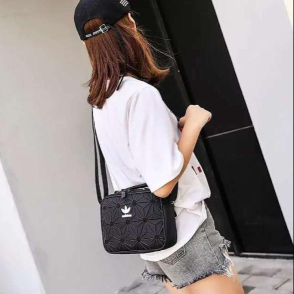 Adidas × Issey Miyake Inspired Crossbody Bag