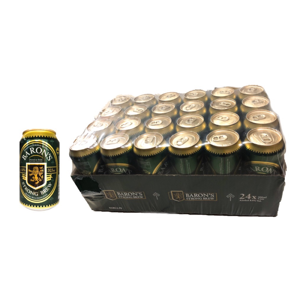 Baron S Strong Brew Beer 24x323ml
